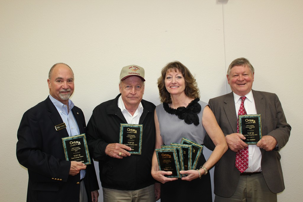 CENTURY 21 HILL COUNTRY COUNCIL AWARD WINNERS